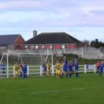 Fairview Rgs two first half goals v Carew Park in FAI today